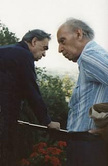 Mario Luzi e Don Fernaldo Flori