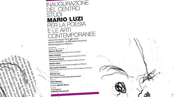 Centro Studi Mario Luzi per la poesia e le arti contemporanee