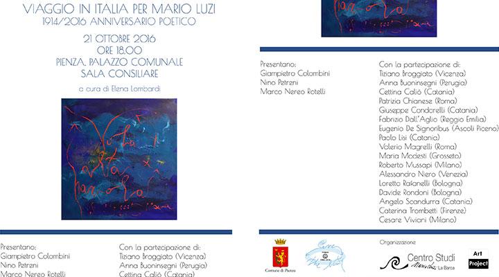 Viaggio in Italia per Mario Luzi